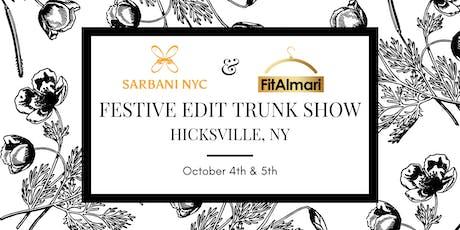 Festive Edit Trunk Show by Sarbani NYC & FitAlmari - Hicksville, NY tickets