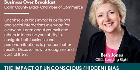 BUSINESS-OVER-BREAKFAST - The Impact of Unconscious (Hidden) Bias tickets