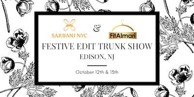 Festive Edit Trunk Show by Sarbani NYC & FitAlmari - Edison, NJ