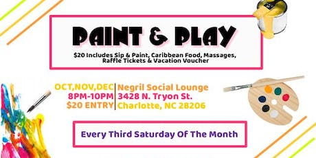 Paint & Play (#1 Sip & Paint Experience) tickets