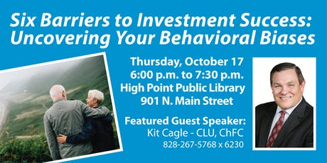 Six Barriers to Investment Success: Uncovering Your Behavioral Biases tickets