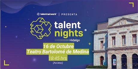 Talent Night Hidalgo Oct 2019 entradas