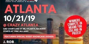 Coast 2 Coast LIVE Artist Showcase Atlanta, GA - $50K...