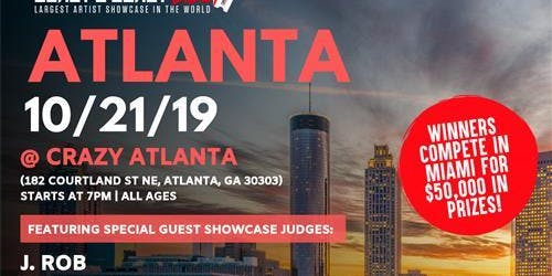 Coast 2 Coast LIVE Artist Showcase Atlanta, GA - $50K Grand Prize