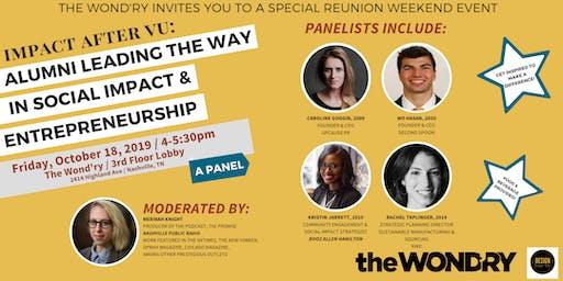 Impact After VU: Alumni Leading the Way in Social Impact & Entrepreneurship