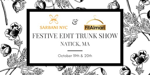 Festive Edit Trunk Show by Sarbani NYC & FitAlmari - Natick, MA