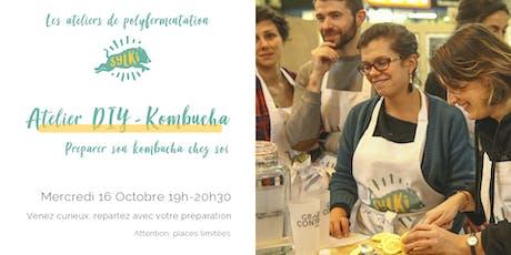 Atelier Fermentation #6 : Kombucha billets