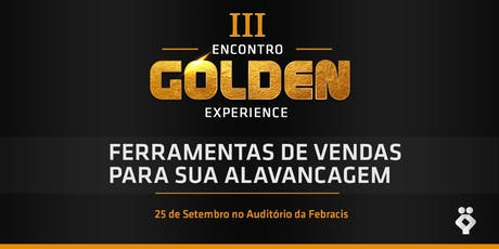 III Encontro de Golden Experience ingressos