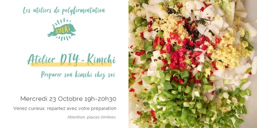 Atelier Fermentation #7 : Kimchi