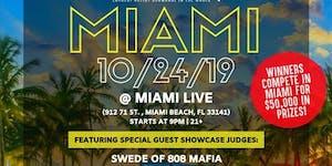 Coast 2 Coast LIVE Artist Showcase Miami, FL - $50K...