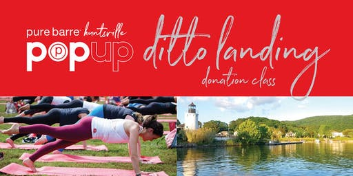 """Pure Barre """"Out of the Darkness""""  Pop Up Class at Ditto Landing"""