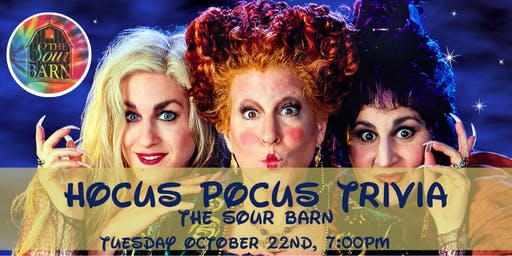 Hocus Pocus Trivia at The Sour Barn