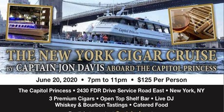 THE NEW YORK CIGAR CRUISE tickets