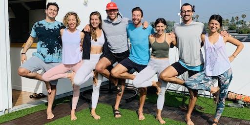 September Rooftop Yoga with Katie Keller