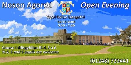 Noson Agored Ysgol Gyfun Llangefni Open Evening tickets