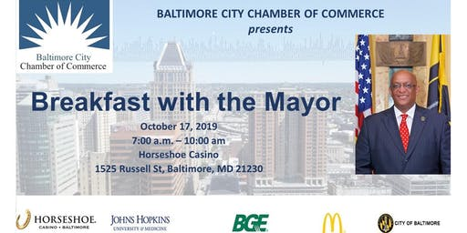 2019 Baltimore City Chamber's Breakfast With The Mayor