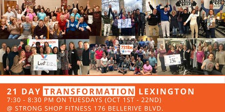 21 Day Transformation - Lexington tickets