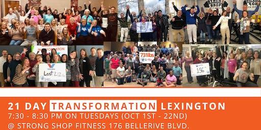 21 Day Transformation - Lexington
