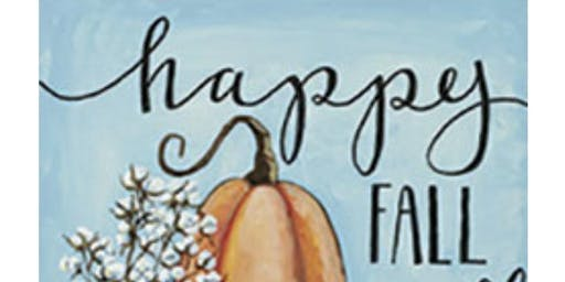 Fall Sip N' Paint with Janna Stirk