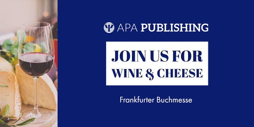 Meet with APA Publishing staff at the Frankfurt Book Fair!