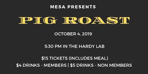 2019 Annual MESA Pig Roast