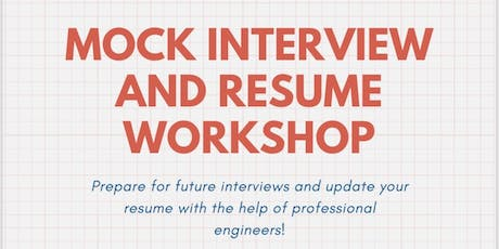 SWE Memphis - Mock Interview and Resume Workshop tickets