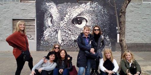 Sábado de Walking Tour Coghlan: arte urbano, paz suburbana