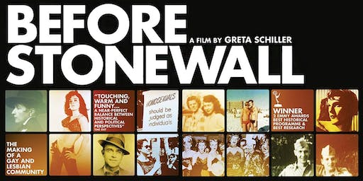 Free screening of Before Stonewall