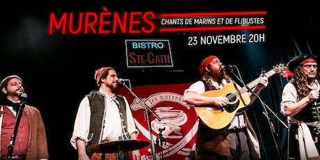 Les Murènes, chants de marins et de flibustes billets