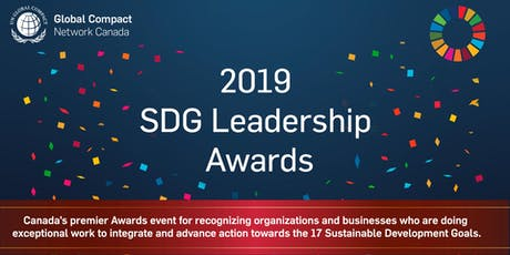 SDG Leadership Awards Gala 2019 billets