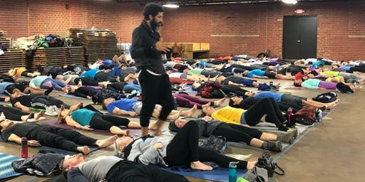October Sunset Yin Yoga with Ahmed Elaasar