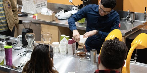 Friday Tasting! November 1st: Your favorite Klatch Coffee Baristas