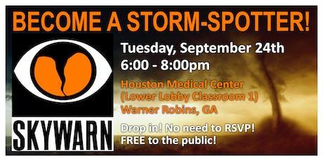 SkyWarn: Become A Storm-Spotter tickets