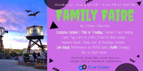 Family Faire | Halloween Fun Edition tickets