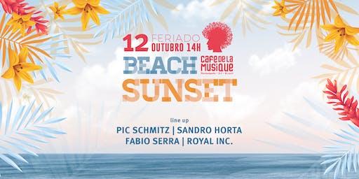 Beach Sunset  12/10 - Café de La Musique Floripa