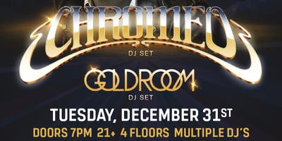 CHROMEO - New Year's Eve at Nashville Underground