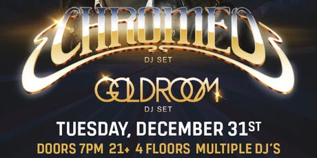 CHROMEO - New Year's Eve at Nashville Underground tickets