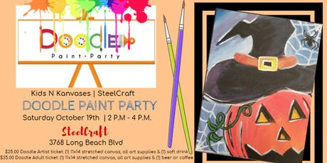 Doodle Paint Party - SteelCraft tickets