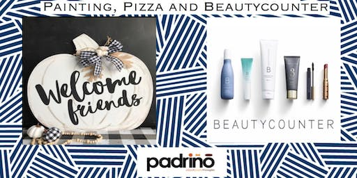 Painting, Pizza and Beautycounter