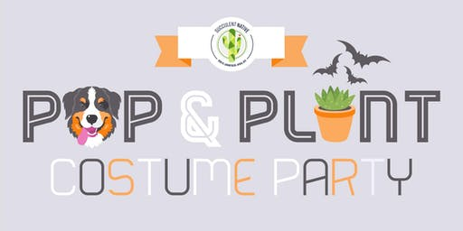 Pups and Plants Costume Party