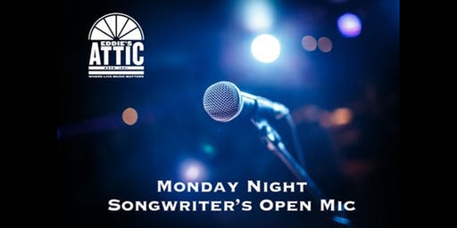 Eddie's Attic Songwriter's Open Mic