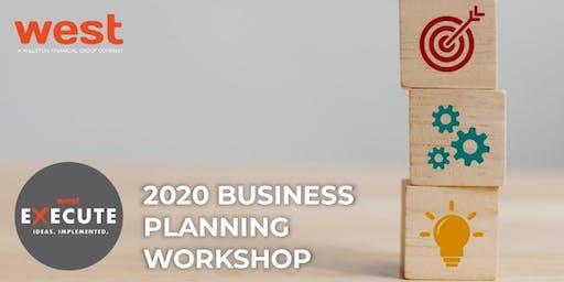 2020 Business Planning Workshop