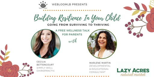 Building Resilience in Your Child
