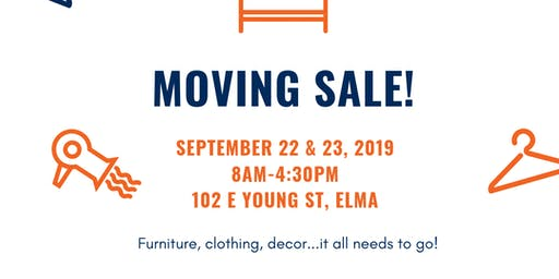 Moving Sale in Elma, WA