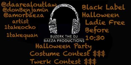Black Label Halloween  tickets