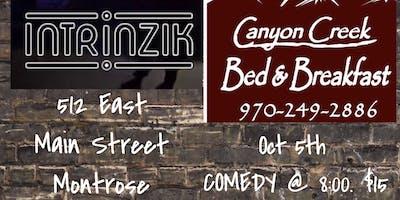 October 5th Comedy at Intrinzik