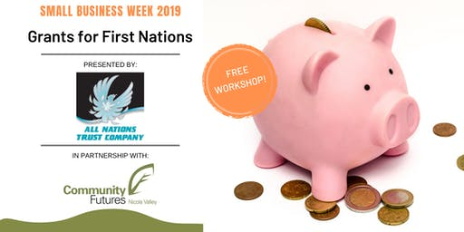 Grants for First Nations