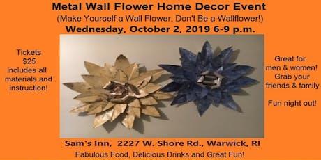 Make a Metal Wall Flower tickets