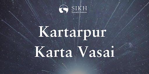 Re-Establishing Kartarpur Sahib - SikhRI Workshop on Guru Nanak Sahib