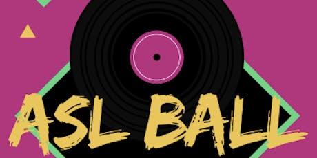 ASL Ball 2019 tickets